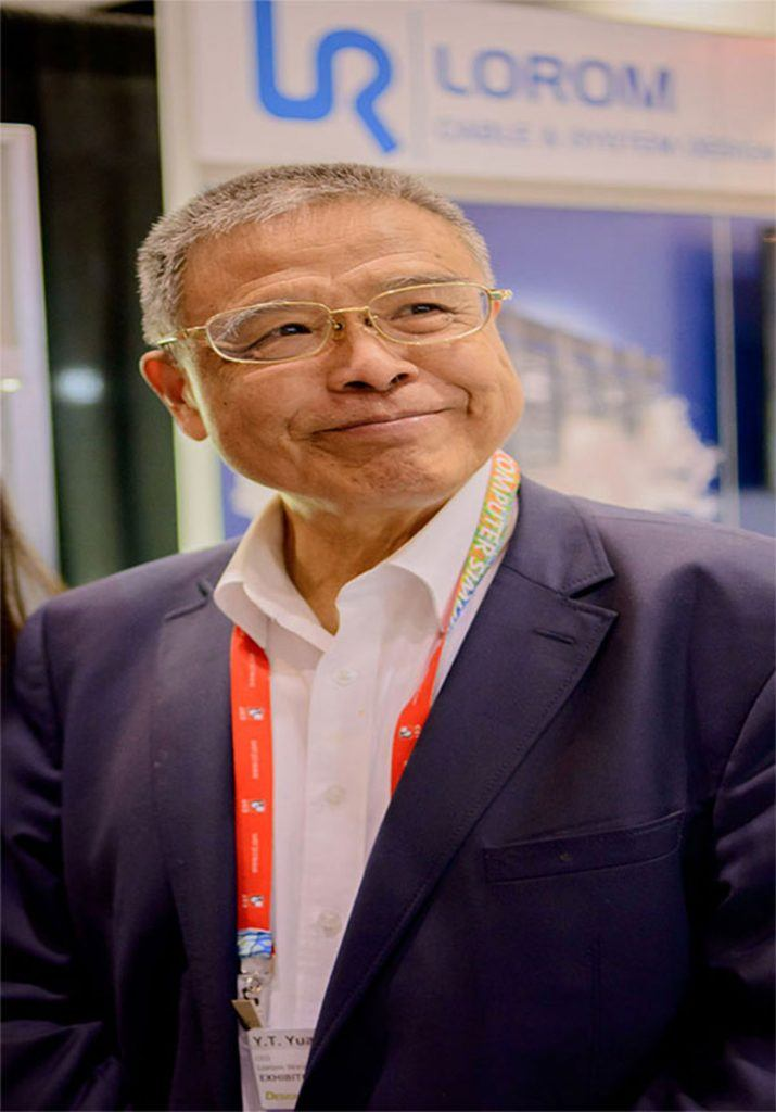 President and Founder Mr YT Yuan