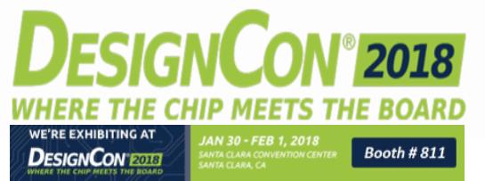 Lorom presenting at Designcon 2018
